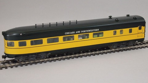 天賞堂 流線型客車 (Chicago & Northwestern, 展望車)