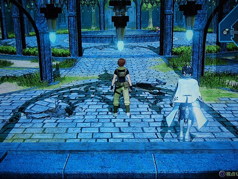 Fate/EXTELLA Link プレイ画面1