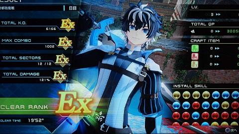Fate/EXTELLA Link プレイ画面5