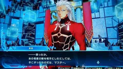 Fate/EXTELLA Link プレイ画面6